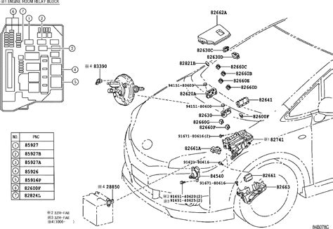 toyota wish 2004 fuse box wiring diagram with description