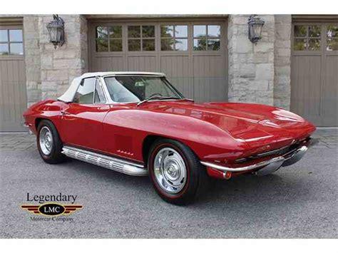 67 corvette for sale 1967 chevrolet corvette stingray for sale