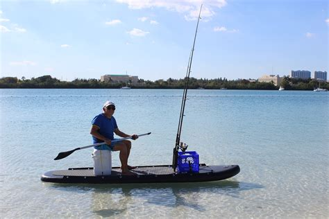 Comfort Paddling by New Fishing Sit On Top Comfort Kayak That Also Sup Paddle Board Ebay