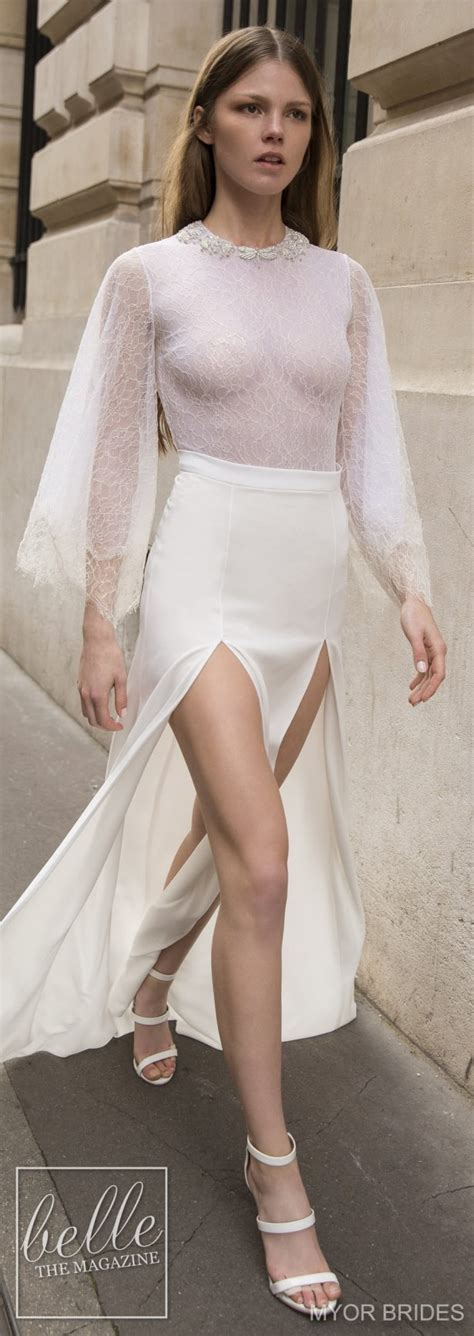 today brides an excuse to put your wedding dress on again myor brides wedding dress collection fall 2018 belle the