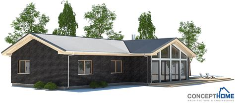 cheap modern house plans affordable home plans economical modern home plan ch192