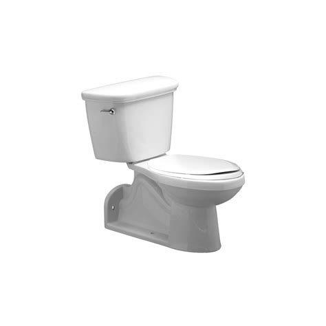 Proflo Plumbing by Proflo Pf1606pawh White Comfort Height Elongated Toilet