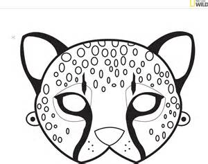 Free animal mask template pdf 4 page s