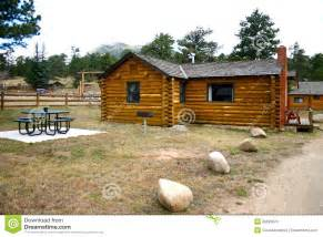 Weekend Rental Cabins Mountain Vacation Rental Cabin Royalty Free Stock Image