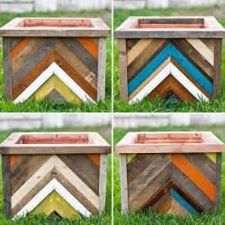 diy planter box out of pallet wood pallet furniture diy