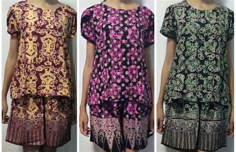 Daster Baju Batik Murah Daster Baju Tidur Grosir 3 daster batik murah bisnis baju murah surabaya