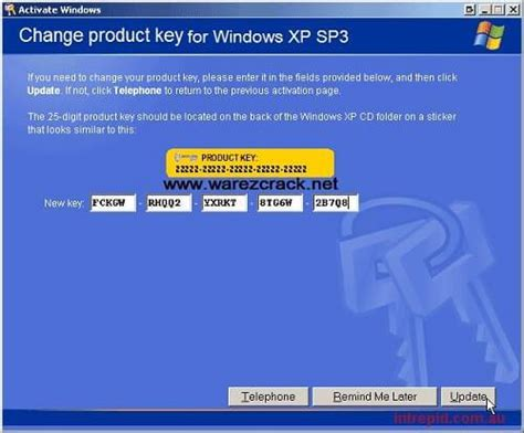 serial key windows xp professional overclock