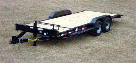 ton equipment gravity tilt bed trailer johnson trailer