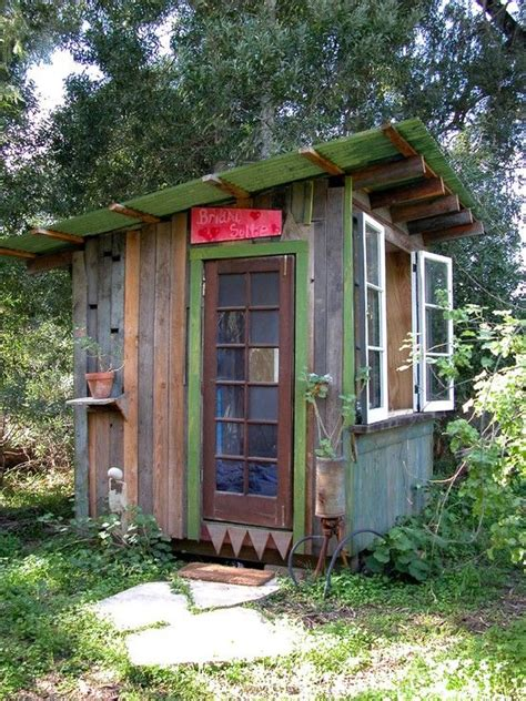 Building A Shed From Recycled Materials by Pin By Leo On Garden