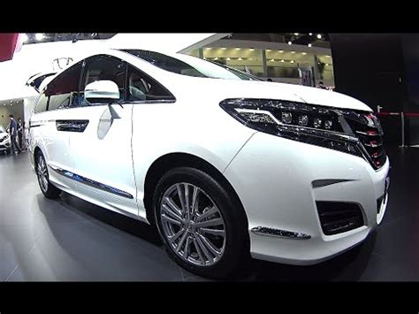 mpv car 2017 2016 2017 honda elysion mpv launched on the chinese car