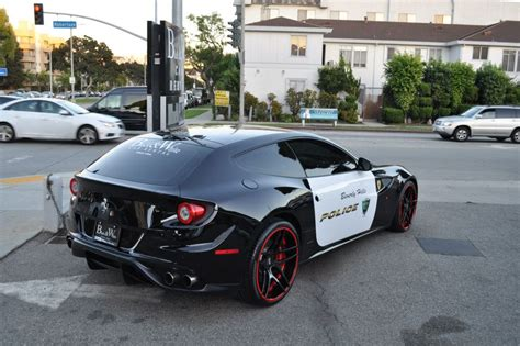 Beverly Hills Gets Ferrari FF Police Car   Autofluence.com