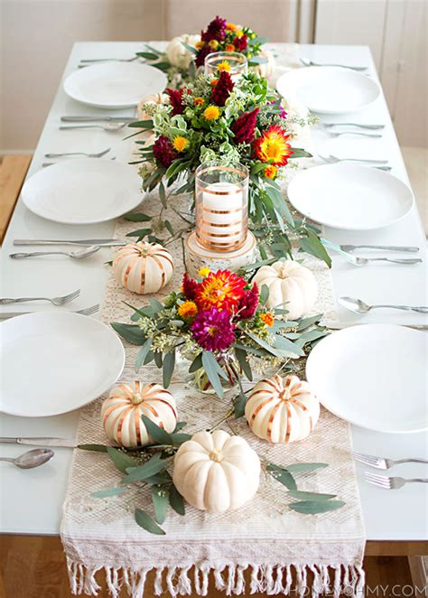 stunning table setting 7 stunning thanksgiving table settings for the holidays