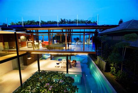 Fish House Singapore Home By Guz Architects E Architect
