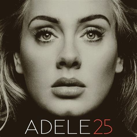 adele greatest hits itunes adele quot 25 quot album cover made by me fanart by me
