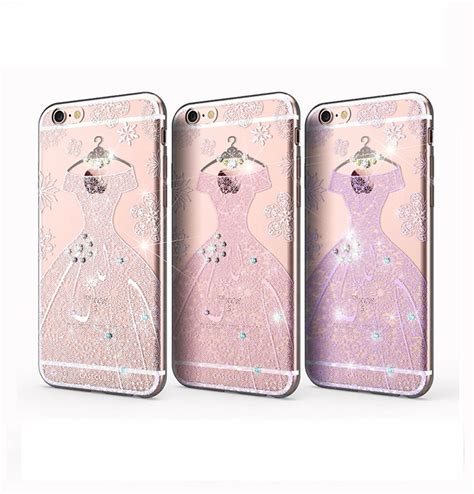 Swarovski Casing For Iphone 66s luxury 100 swarovski clean soft tpu anti knock brand phone for iphone 6 6s 6 plus