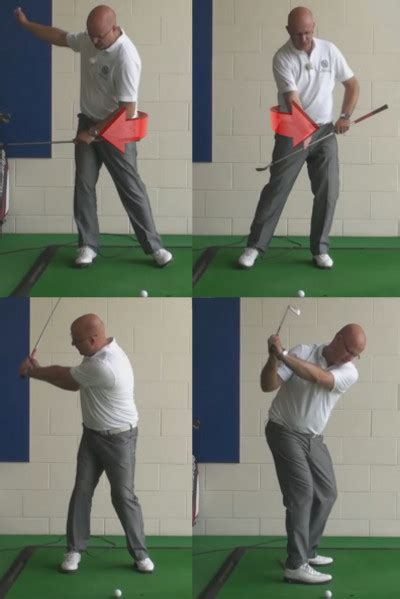 Stop Your Backswing Sway For More Power Senior Golf Tip