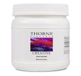 creatine research thorne research creatine review
