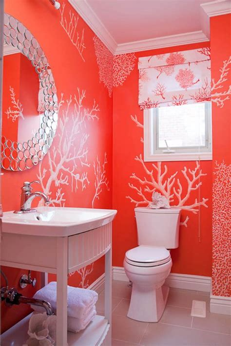 the gallery for gt coral wall stencil