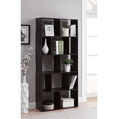mainstays home 8 shelf bookcase espresso mainstays home 12 shelf bookcase multiple finishes home