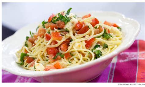 tomato pasta recipe brie tomato pasta a review of katherine heigl s recipe