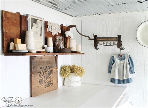 Antique Laundry Room Decor Vintage Look Laundry Room Laundry Room Pinterest