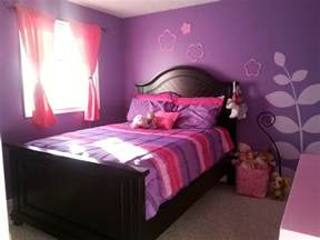 purple and pink bedroom pink and purple girls room my home pinterest room