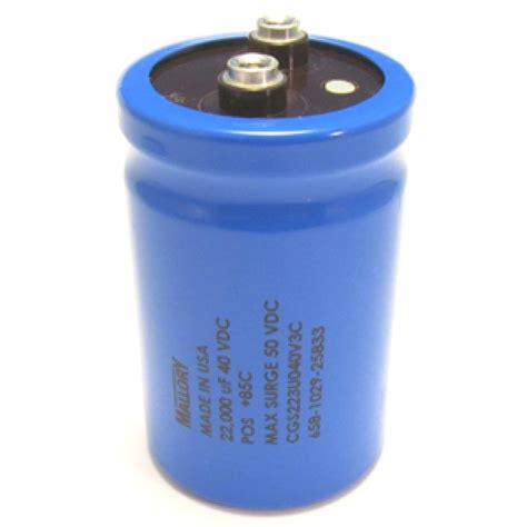 what does mfd capacitor capacitor 22000 mfd 40v miscellaneous electrical