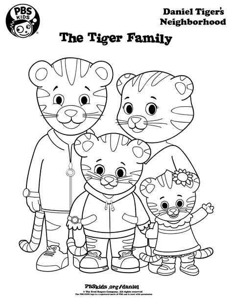 daniel tiger coloring daniel tiger coloring pages az coloring pages