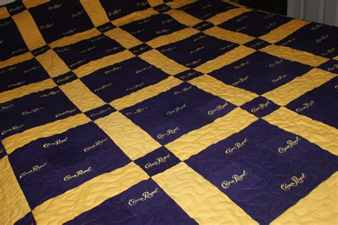 crown royal quilt custom made to order quilts for guys