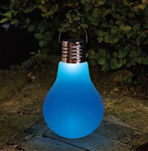 Large Eureka Omega Solar Light Bulb The Garden Factory Large Solar Light