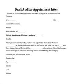 Appointment Letter As Tax Auditor 24 Sle Appointment Letters In Doc