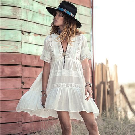 bohemian styles for women over 45 popular cotton hippie dresses buy cheap cotton hippie