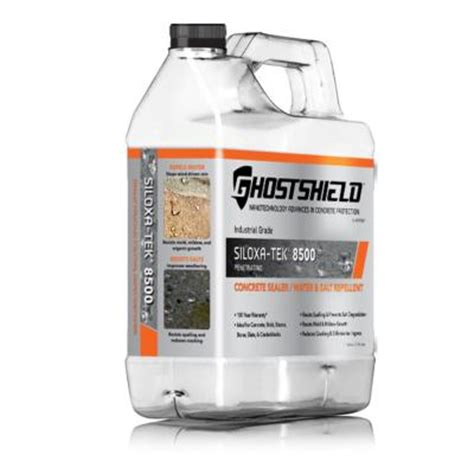 Concrete Countertop Sealer Home Depot by Ghostshield 16 Oz Concrete Countertop Sealer With Low Sheen Finish 660 The Home Depot