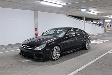 mercedes cls 63 amg black mercedes cls 63 amg w219 black edition tuning widebody