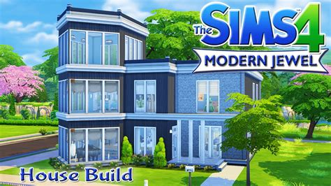 want to build a house the sims 4 house build modern jewel family home youtube