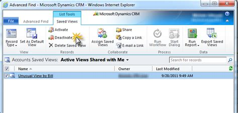microsoft dynamics crm 2011 and mobility powerobjects creating and hiding views in crm 2011 powerobjects