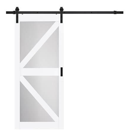 dining room frosted glass barn door frosted glass barn