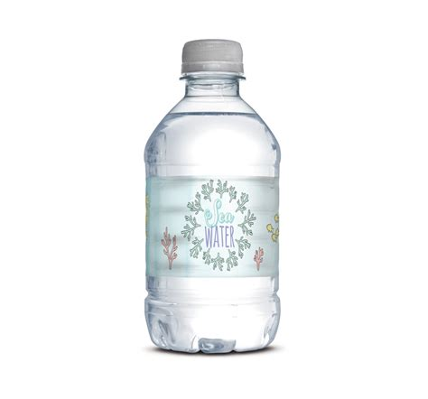 mermaid mini water bottle wraps modern moments