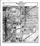 joliet section 8 will county 1893 illinois historical atlas
