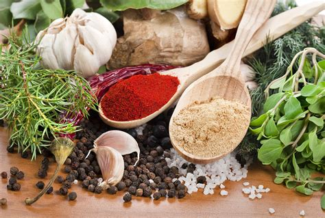 Herbal Food 7 Herbs And Spices That Improve Health Secret Table