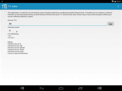 reset android iptables ttl editor android apps on google play