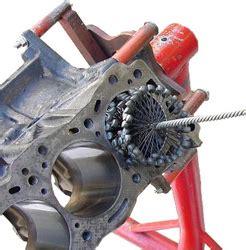 automotive engine rebuilder improves quality  flexible honing tool