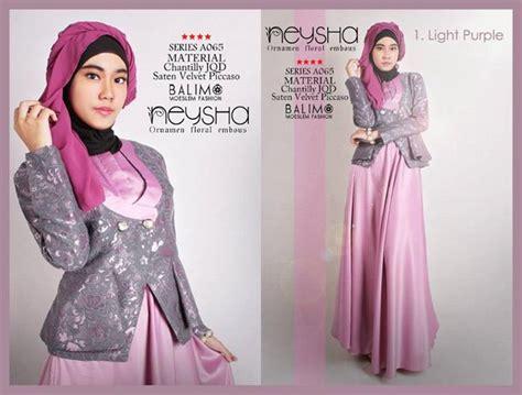 Gamis Terbaru 2014 Cynarra Baju Muslim Modern Pusat Baju Muslim Gamis