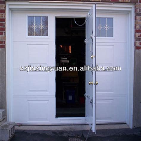 heat insulation garage doors with pedestrian door buy