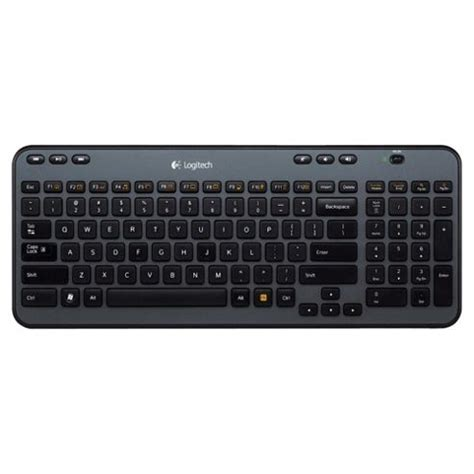 Logitech Wireless Keyboard K360 buy logitech k360 wireless keyboard black from our