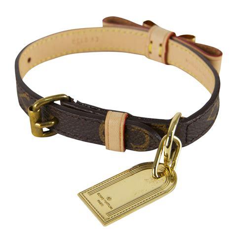 loui vuitton collar louis vuitton monogram leather collar leash