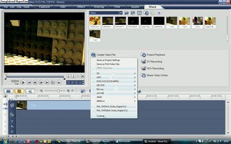 Tutorial Editing Video Ulead | ulead videostudio tutorial exporting in hd youtube