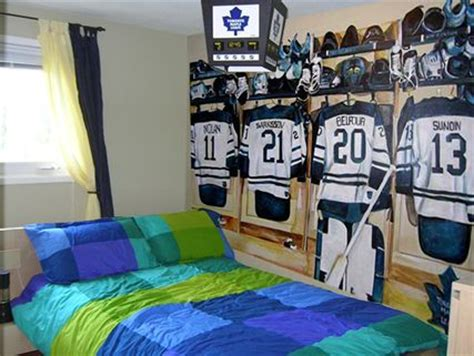 hockey bedroom decor 17 best ideas about hockey theme bedrooms on pinterest