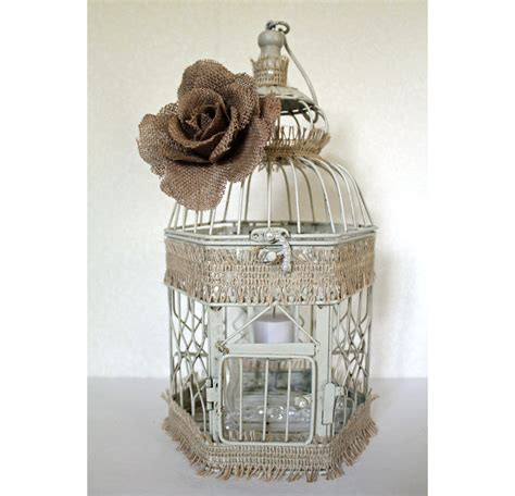 wedding birdcage centerpiece or wishing well by dazzlinggrace