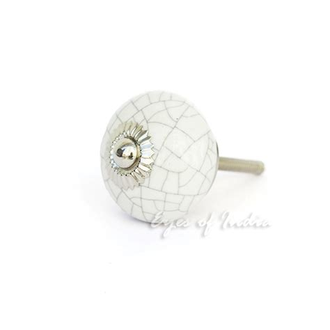 decorative cabinet door knobs white cracked decorative ceramic cabinet dresser cupboard